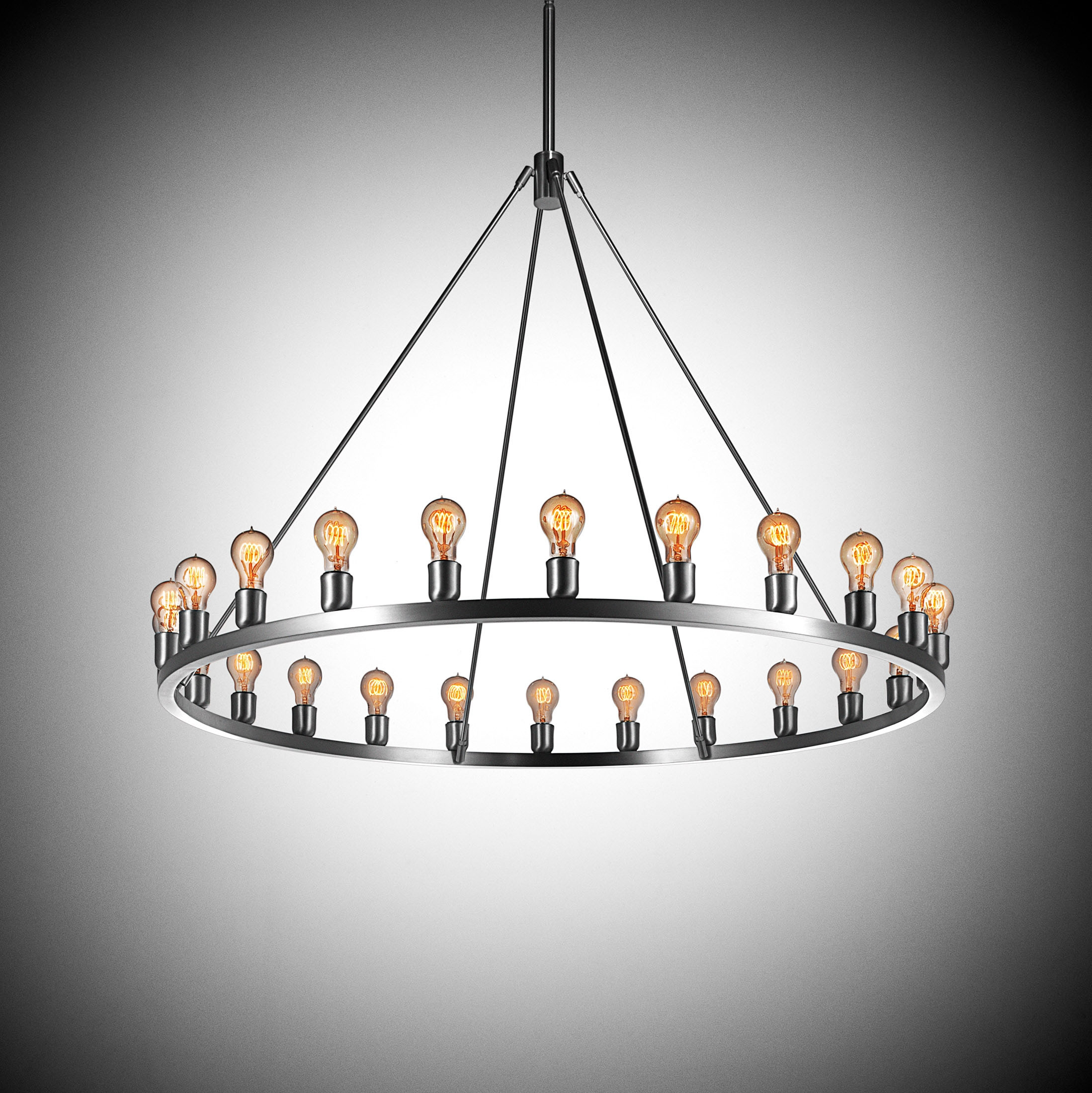 53 Modern Chandelier Lighting Chromecrystalmetal Bubble Shade With Contemporary Chandeliers (Image 4 of 15)