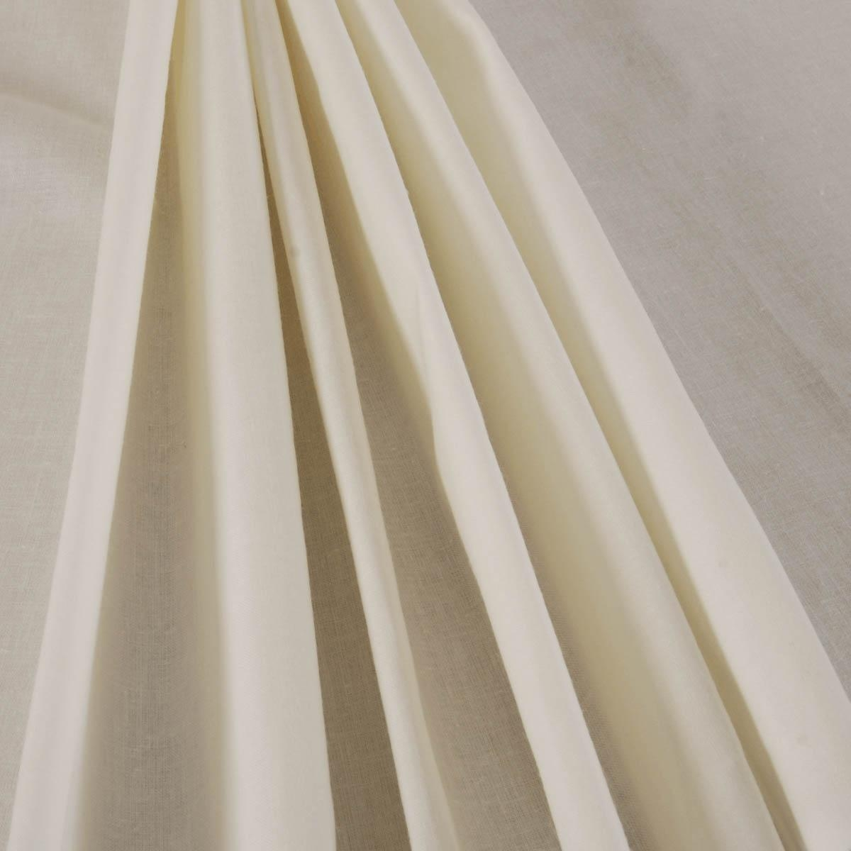 54 Poly Cotton Lining Cream Free Uk Delivery Terrys Fabrics Throughout Lined Cotton Curtains (Image 1 of 15)