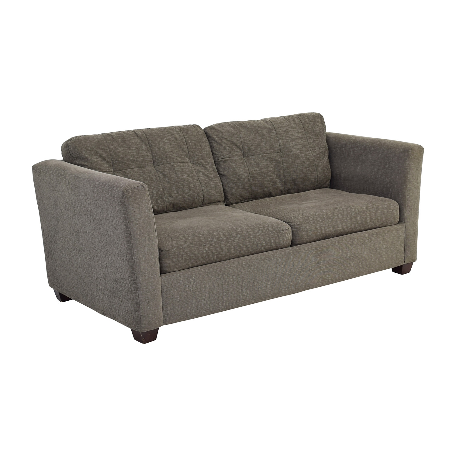 58 Off Bauhaus Bauhaus Grey Queen Sleeper Sofa Sofas For Bauhaus Sleeper Sofa (View 8 of 15)