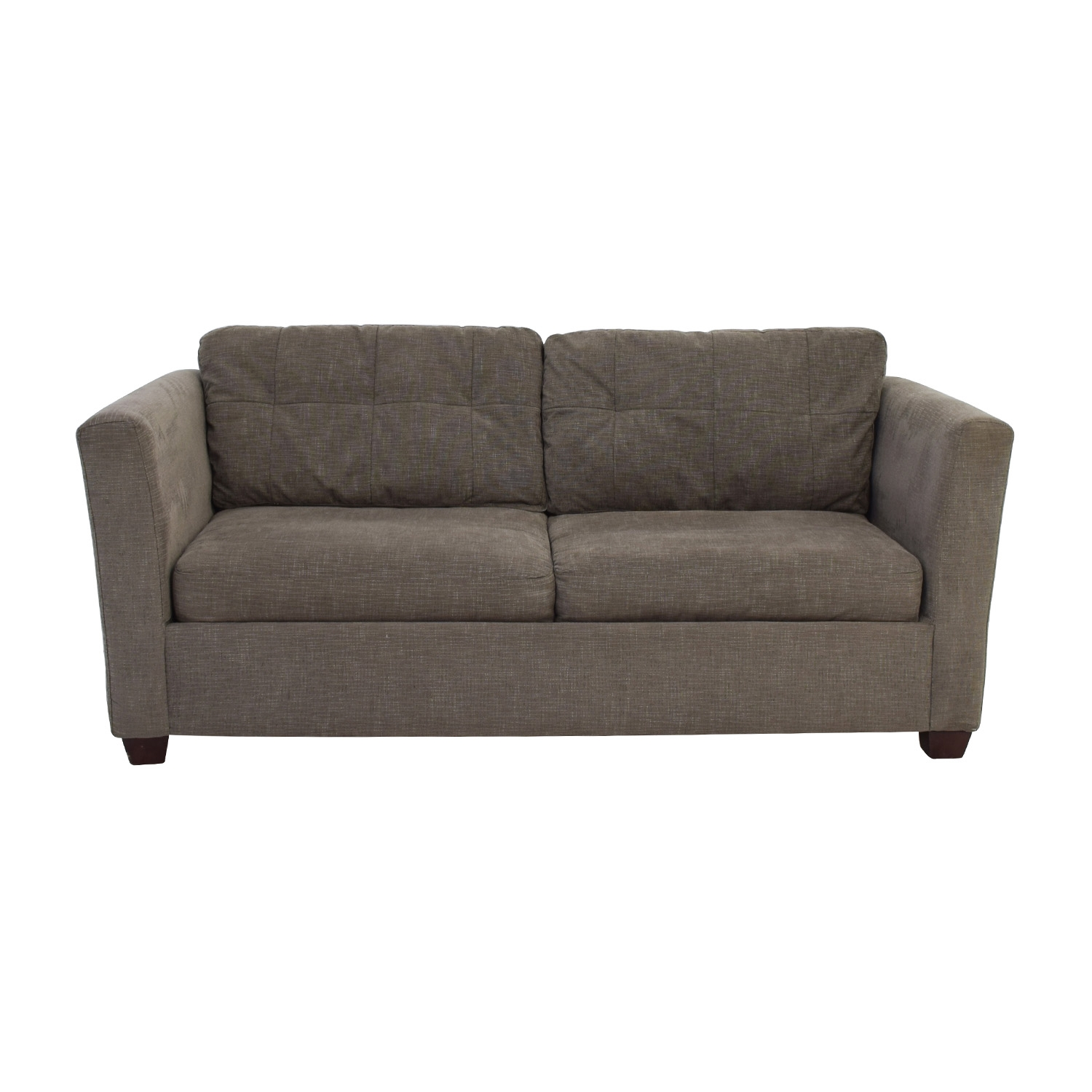 58 Off Bauhaus Bauhaus Grey Queen Sleeper Sofa Sofas Within Bauhaus Sleeper Sofa (View 5 of 15)
