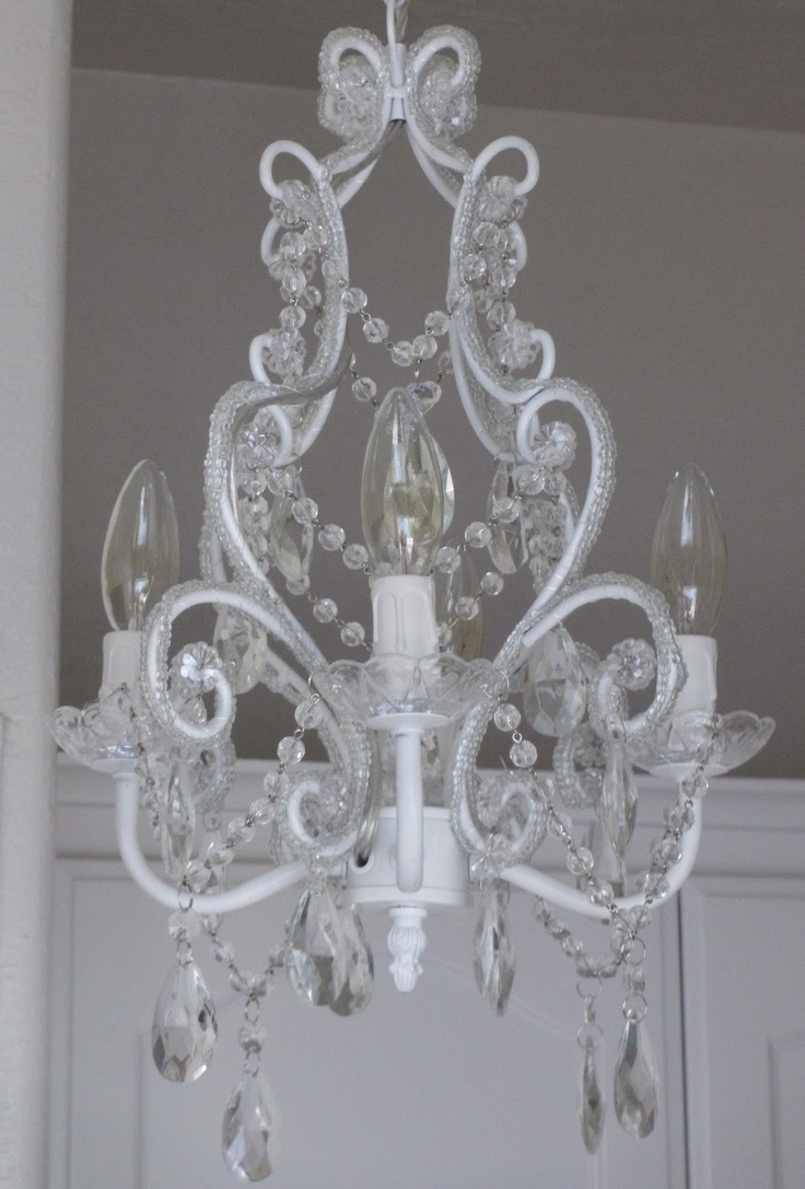 584 Best Images About Lighting Ideas On Pinterest The Chandelier Intended For Small Shabby Chic Chandelier (Image 2 of 15)