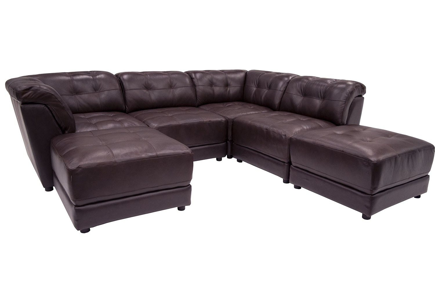 6 Piece Modular Sectional Sofa Regarding 6 Piece Modular Sectional Sofa (Image 2 of 15)