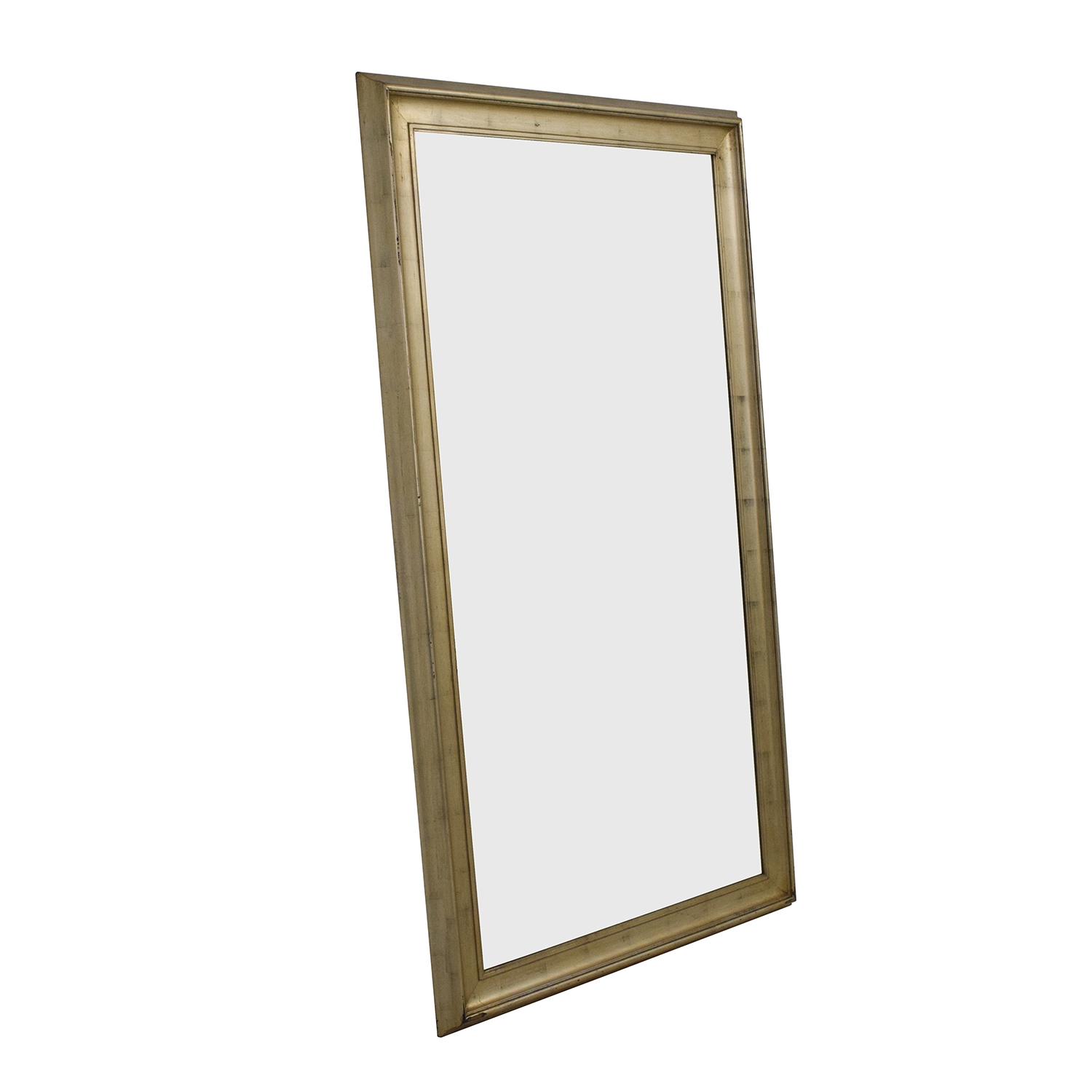 61 Off Standing Gold Framed Mirror Decor Regarding Gold Standing Mirror (View 13 of 15)