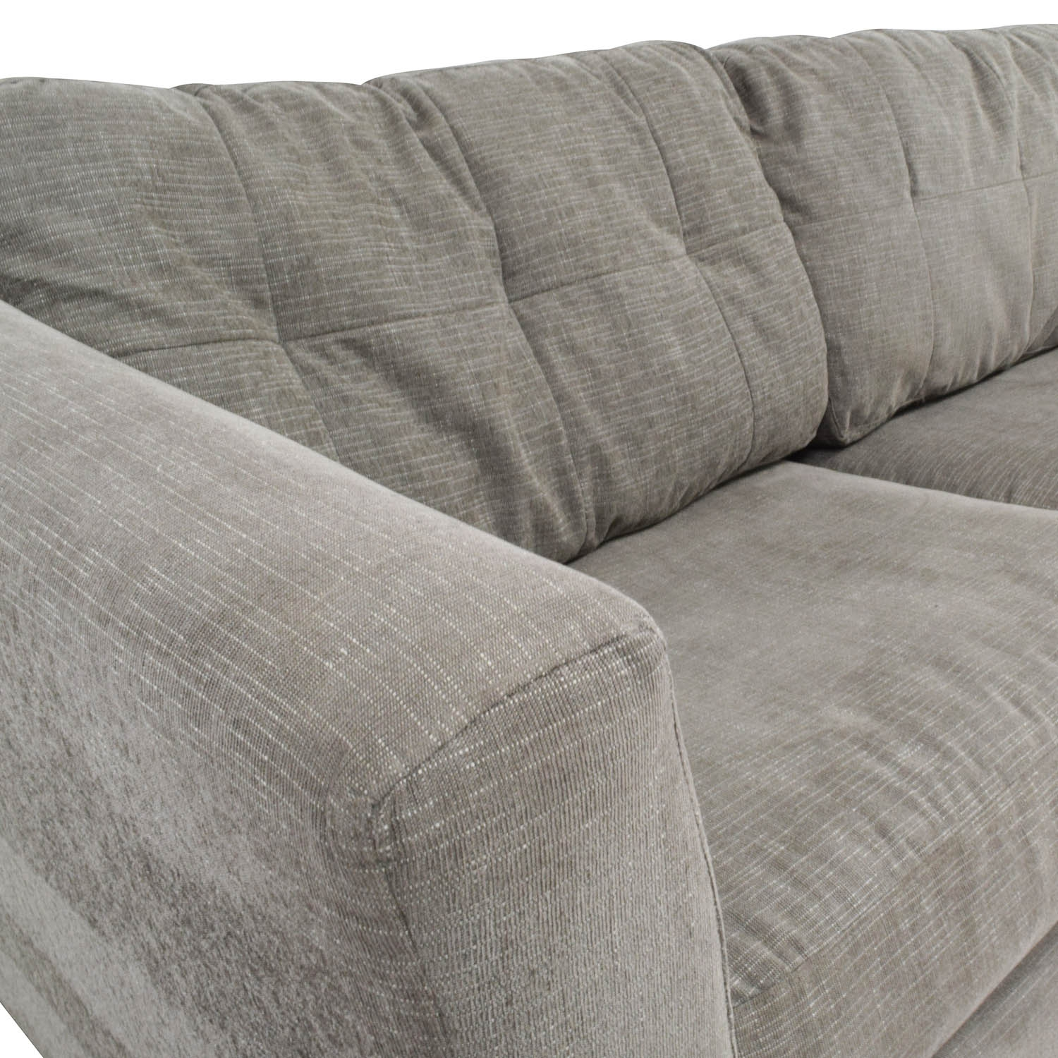 62 Off Bauhaus Bauhaus Grey Queen Sleeper Sofa Sofas Regarding Bauhaus Sleeper Sofa (View 11 of 15)