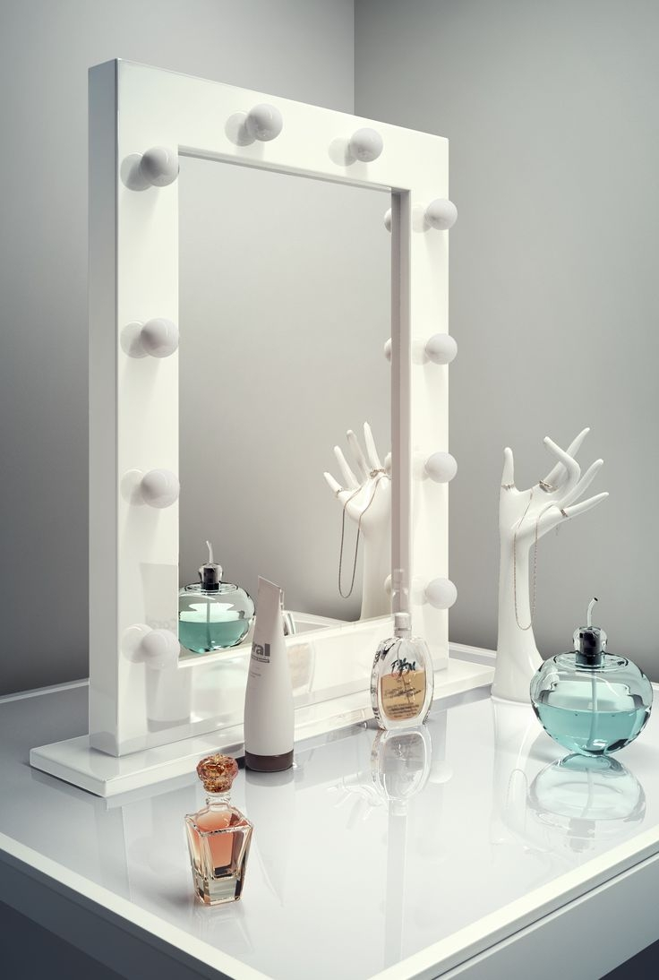 7 Best Images About Mirrors On Pinterest Home Mirror Ideas And Regarding Illuminated Dressing Table Mirrors (Image 1 of 15)