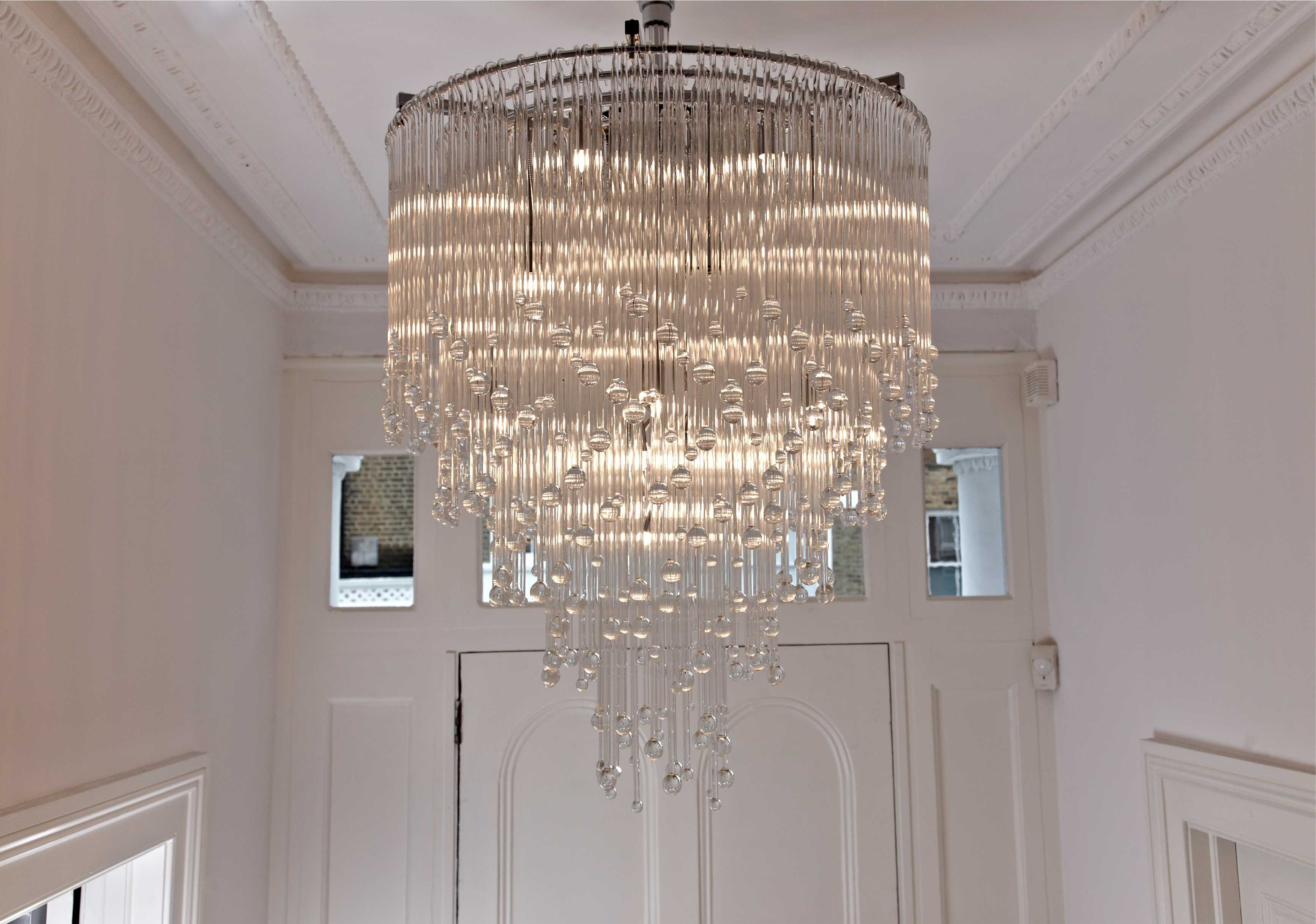 7 Useful Tips To Install Extra Large Modern Chandeliers Shining Pertaining To Large Chandeliers Modern (View 4 of 15)