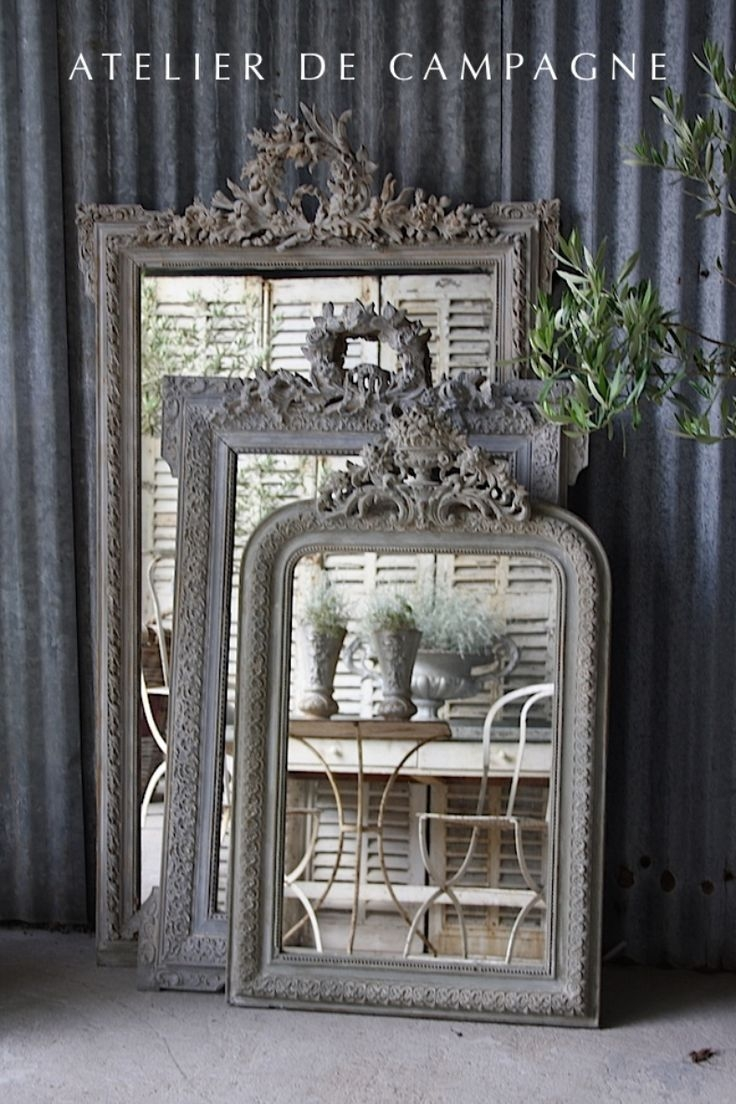 70 Best Images About Silver Gilded Mirror On Pinterest Regarding Silver Gilded Mirror (Photo 15 of 15)