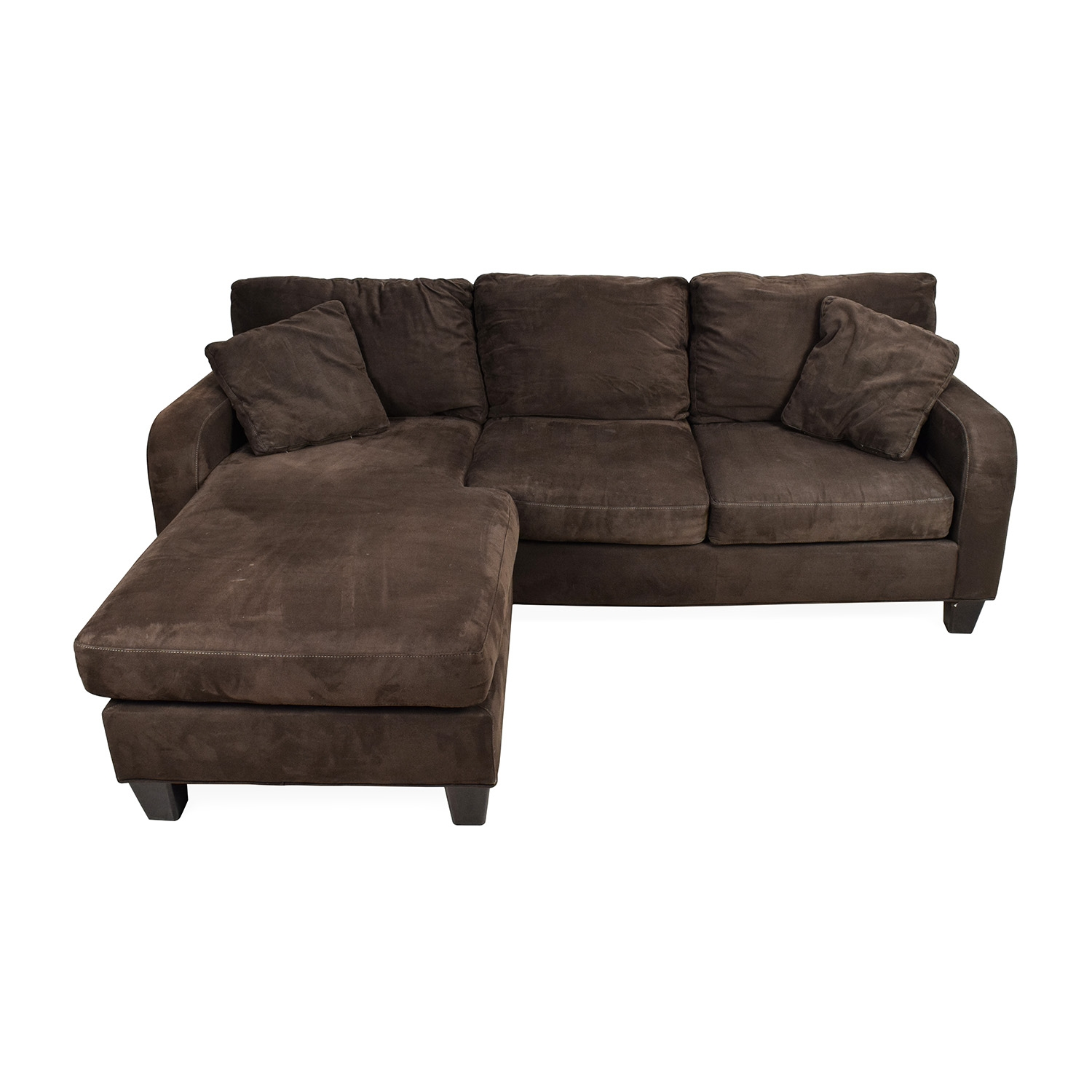70 Off Cindy Crawford Home Cindy Crawford Bailey Microfiber Intended For Cindy Crawford Home Sectional Sofa (Image 1 of 15)