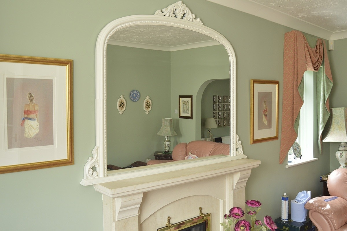 8 Beautiful Large Ornate Mirrors Lotusep Within Large Overmantle Mirrors (View 11 of 15)
