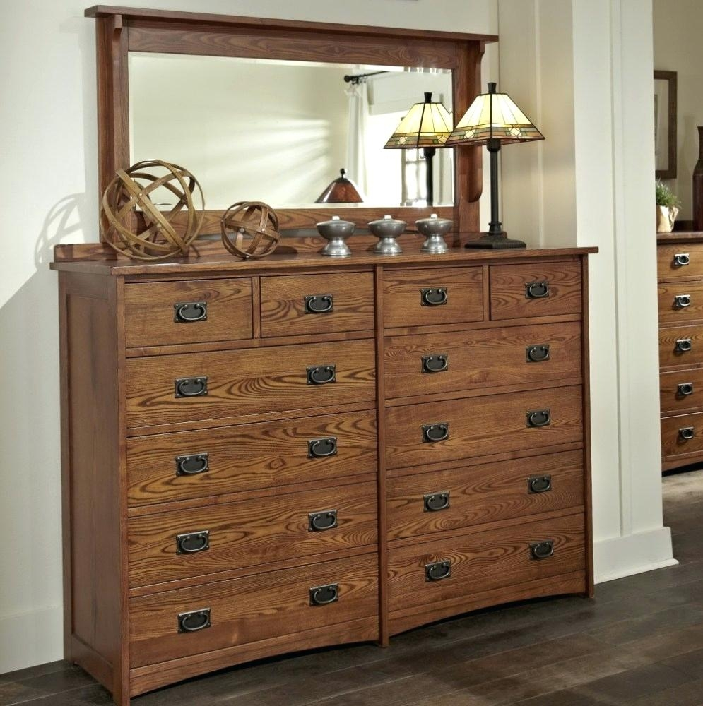 8 Drawer Dresser Tall Old Style With Mirror Home Design Ideas Within Old Style Mirror (Image 1 of 15)