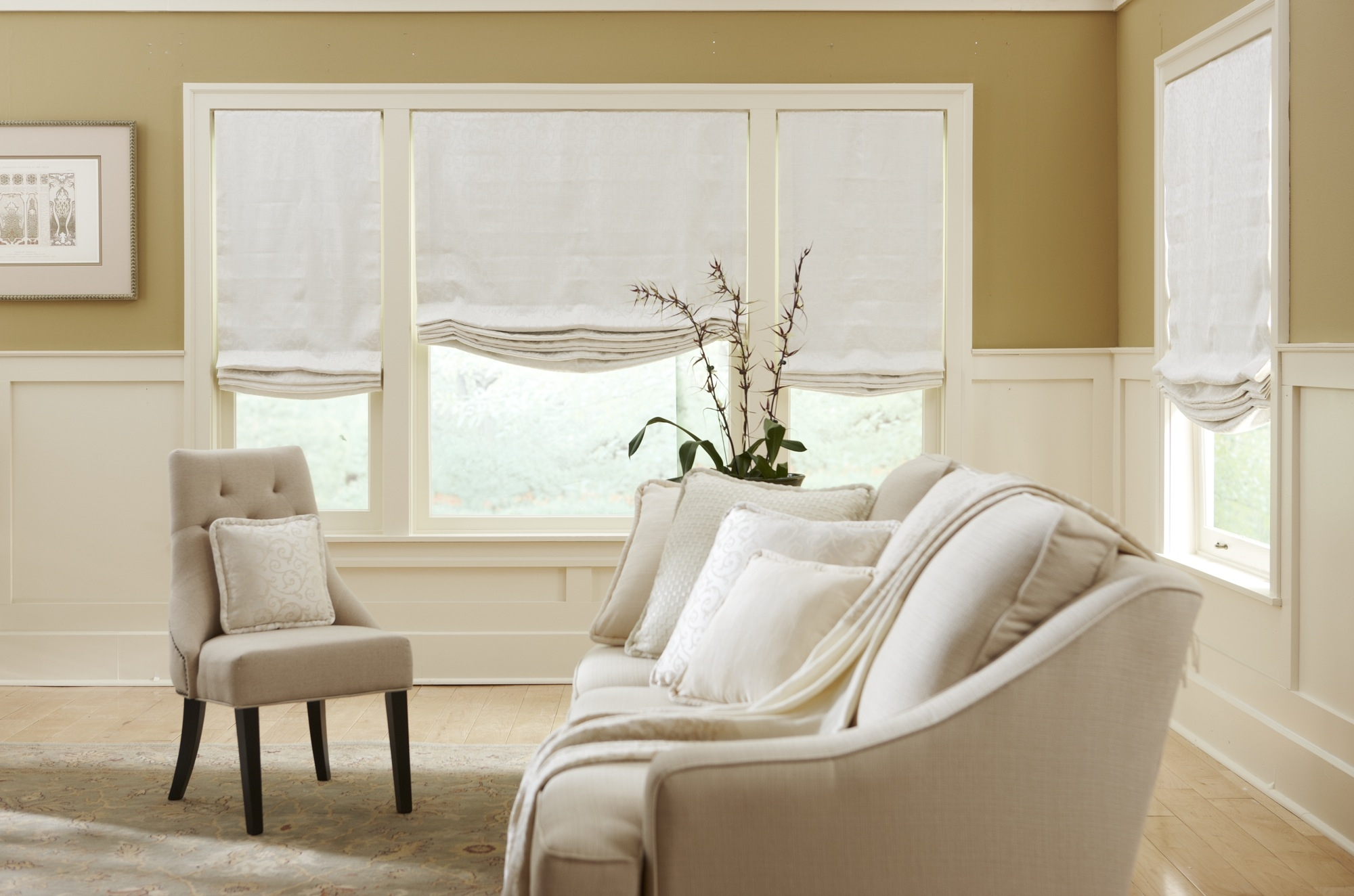 8 Very Different Rooms All Roman Shades Nh Blinds Regarding Custom Roman Blinds (Photo 9 of 15)