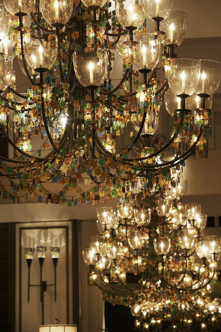 9 Best Images About The Kahala Chandelier On Pinterest Turquoise Inside Giant Chandeliers (Photo 3 of 15)