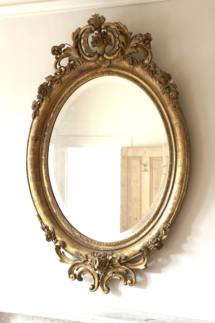 90 Best Images About Mirrors On Pinterest Antiques Oval Mirror Inside Elaborate Mirrors (Image 4 of 15)