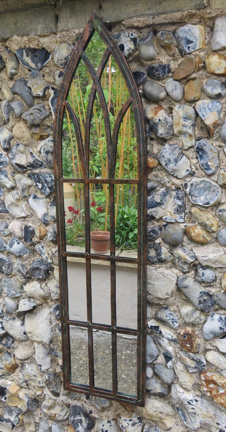 98 Best Images About Garden Mirrors On Pinterest Gardens Gothic In Garden Wall Mirrors (Photo 14 of 15)