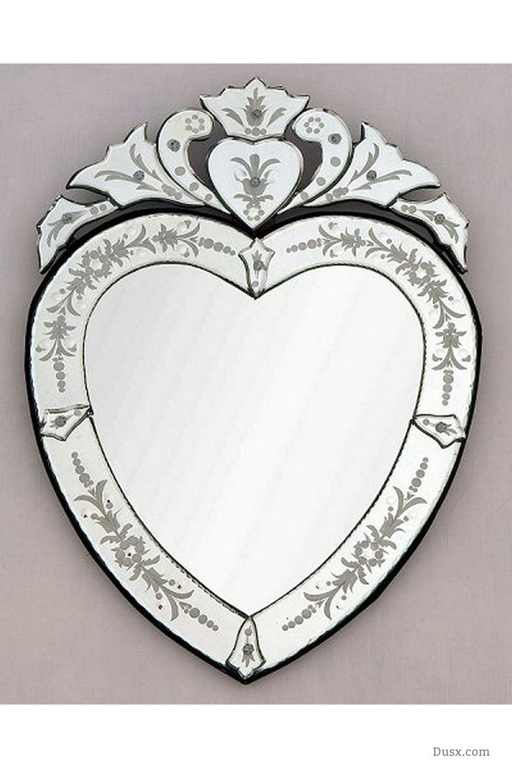 98 Best Images About Marvellous Mirrors All Can Be Found At Www For Venetian Heart Mirror (Photo 4 of 15)