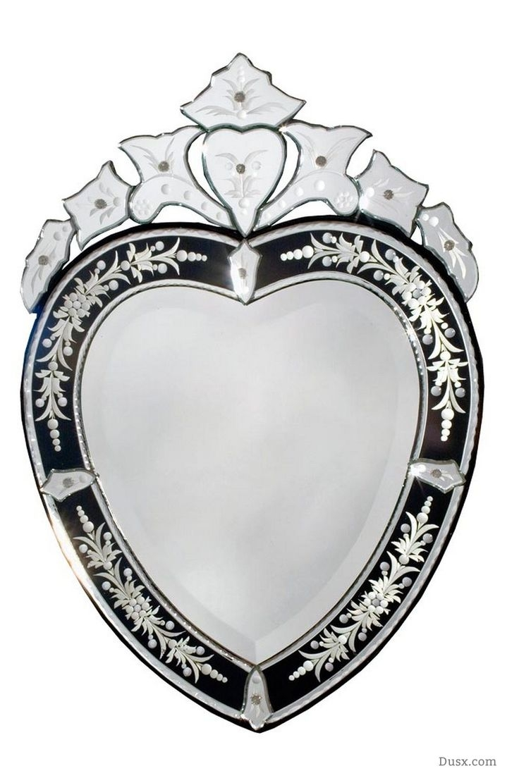 98 Best Images About Marvellous Mirrors All Can Be Found At Www Pertaining To Heart Venetian Mirror (Photo 15 of 15)