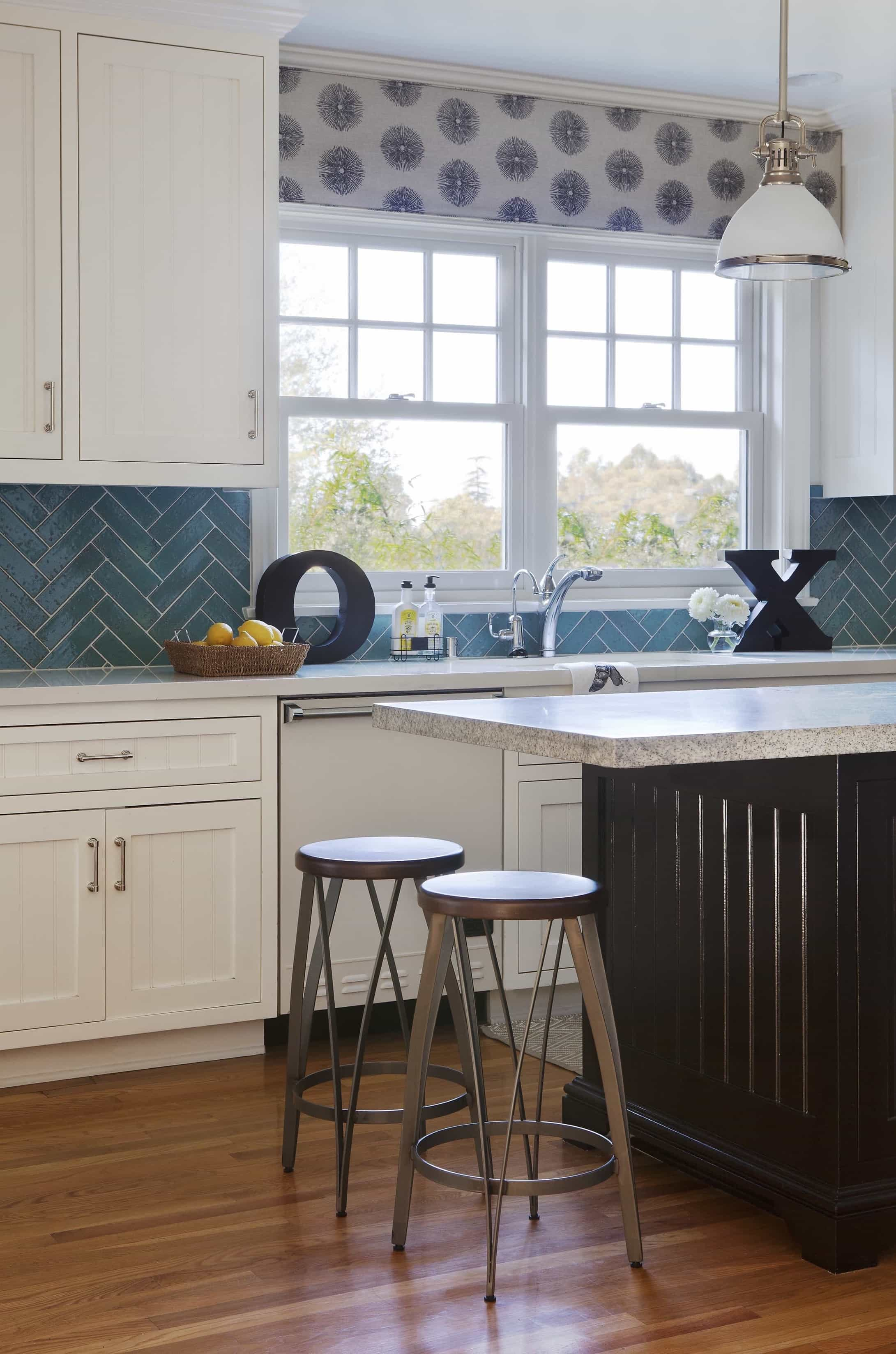 Featured Image of Brentwood Kitchen With Coastal Flair