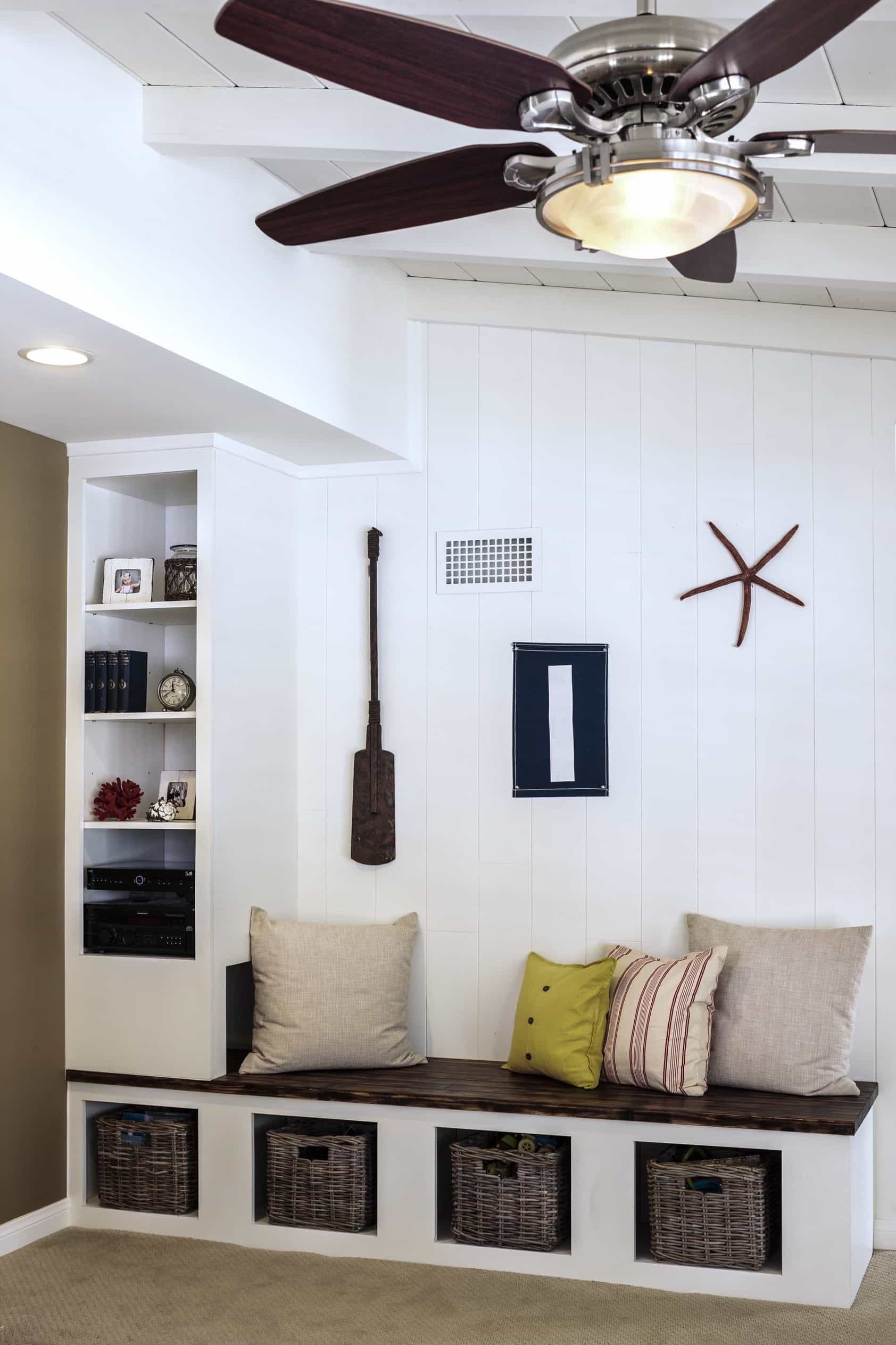 Featured Image of Built In Bench Mudroom Sitting Area