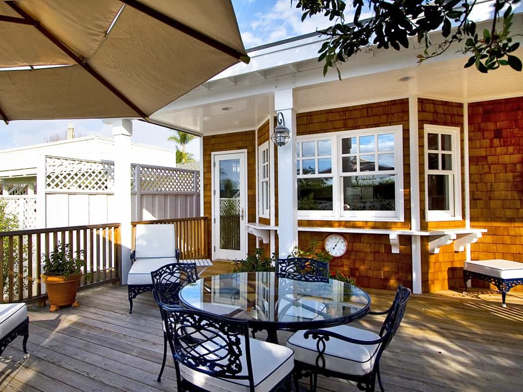 Featured Image of Cape Cod Deck And Outside Dining Area