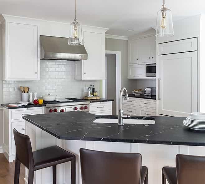 Cape Cod Kitchen Interior Design #48268