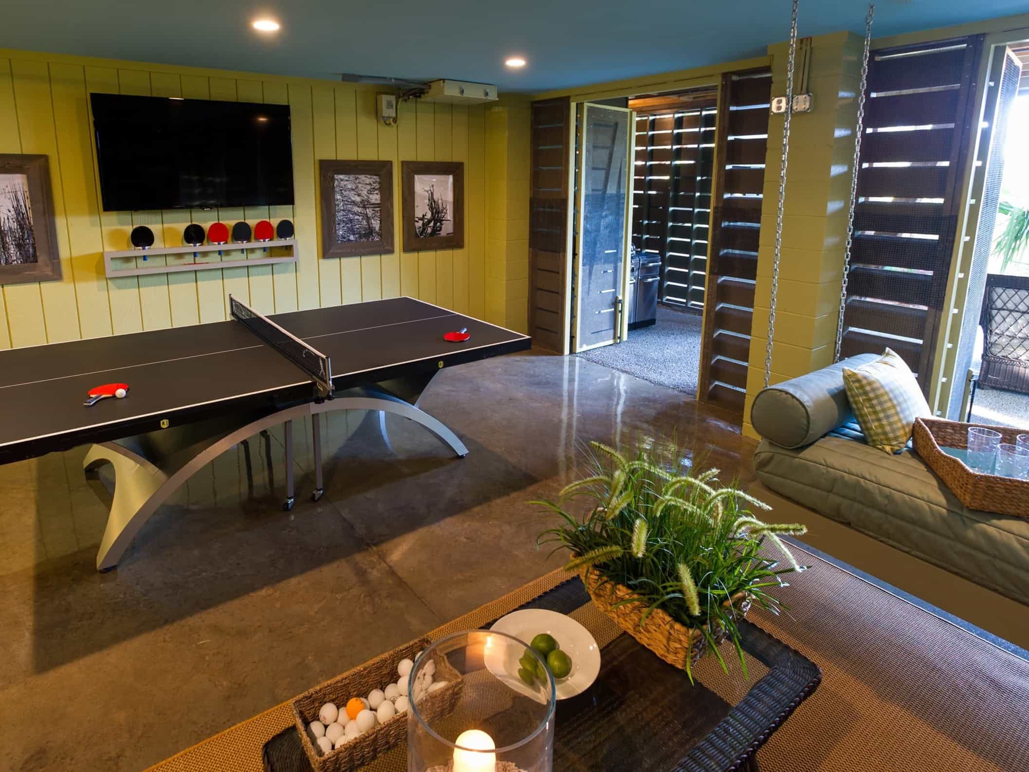 Featured Image of Coastal Playroom With Ping Pong Table