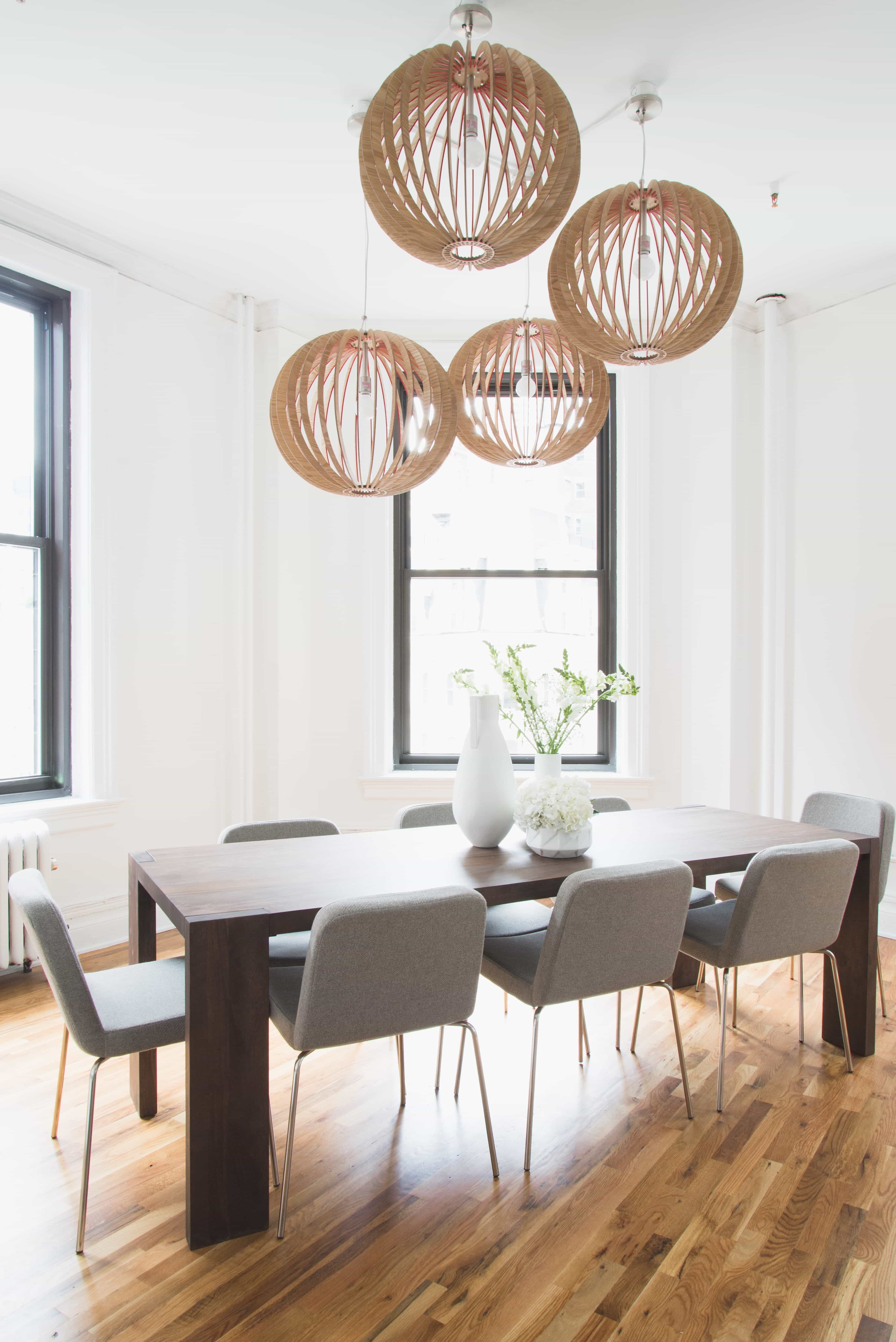 Featured Image of Contemporary White Conference Room With Orb Lights