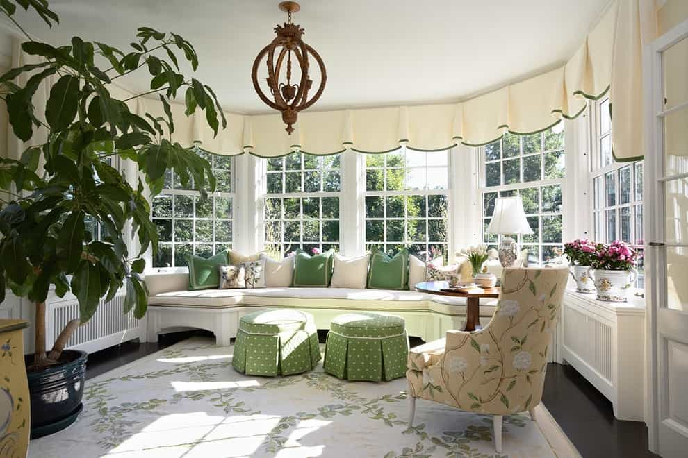 Superb DIY Window Valance Ideas For Living Room (Image 9 Of 20)