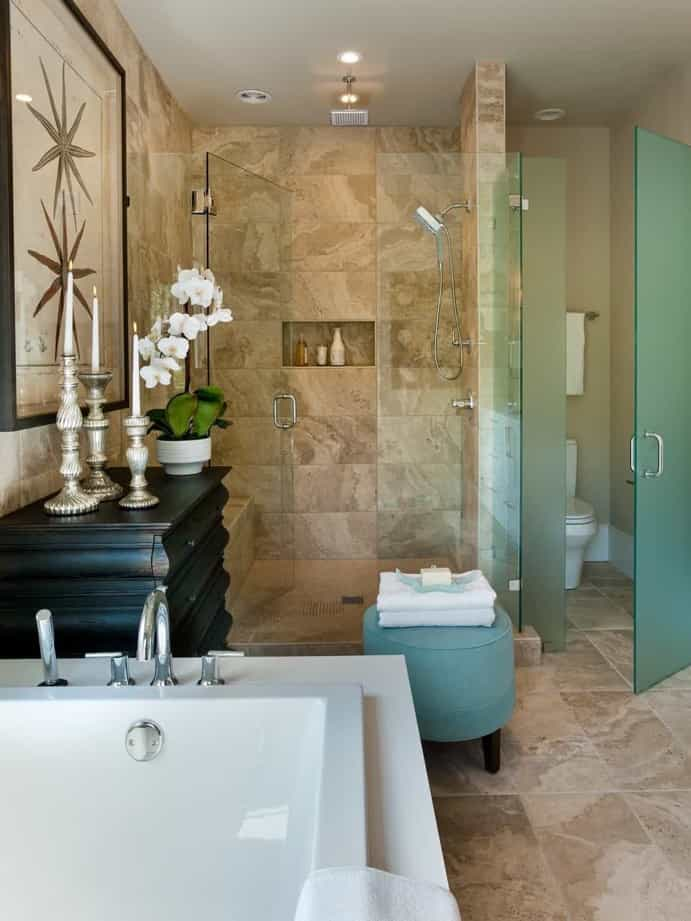Featured Image of Master Bathroom With Spacious Walk In Shower
