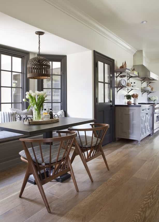 Featured Image of Minimalist Arts And Crafts Dining Area And Kitchen