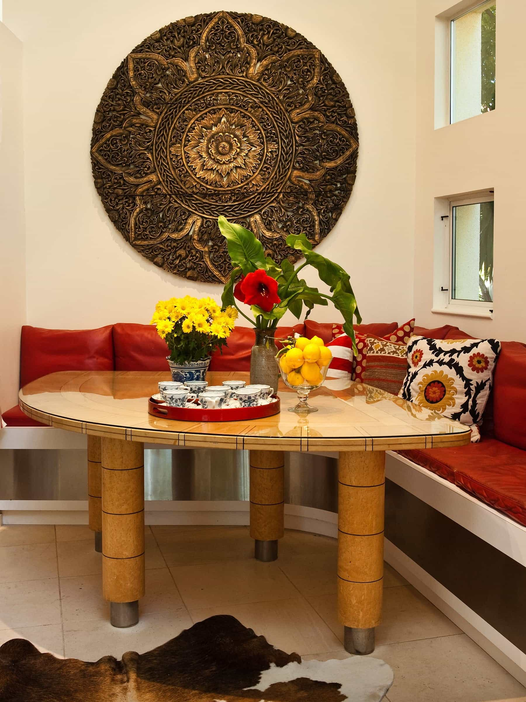 Featured Image of Oriental Corner Bench Dining Banquette