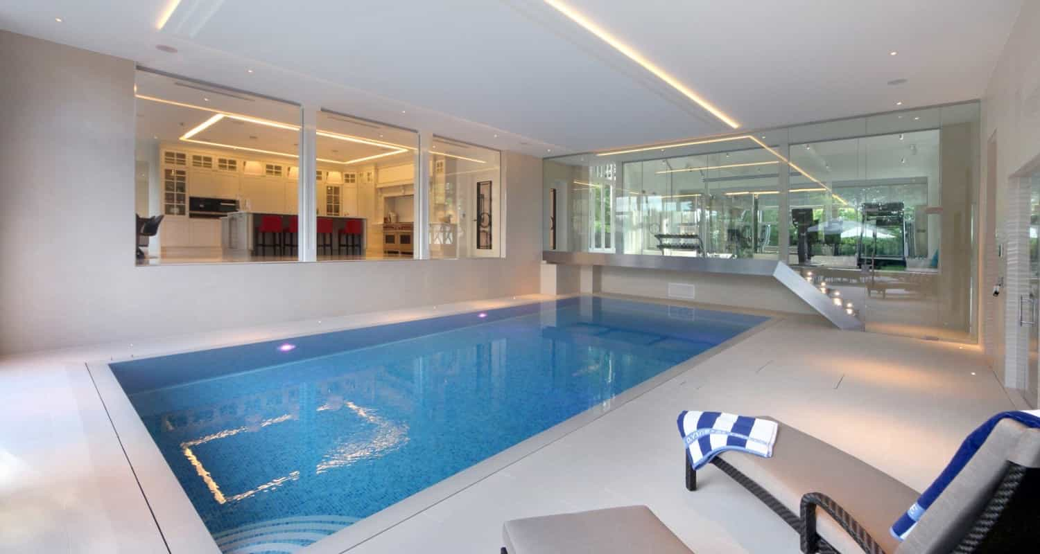 Popular Indoor Swimming Pool Design  (Image 14 of 14)