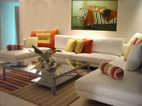 Featured Image of Simple Living Room Furniture Design