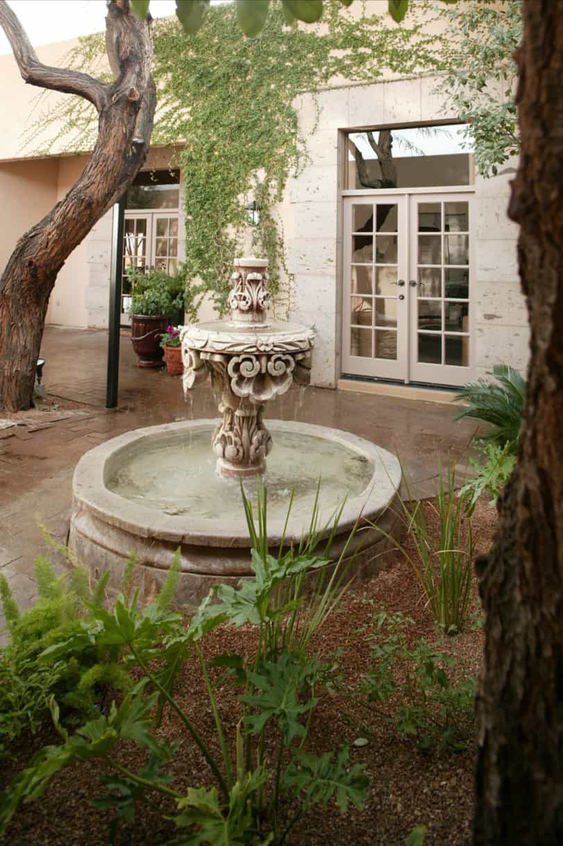 Featured Image of Spanish Colonial Courtyard Fountain