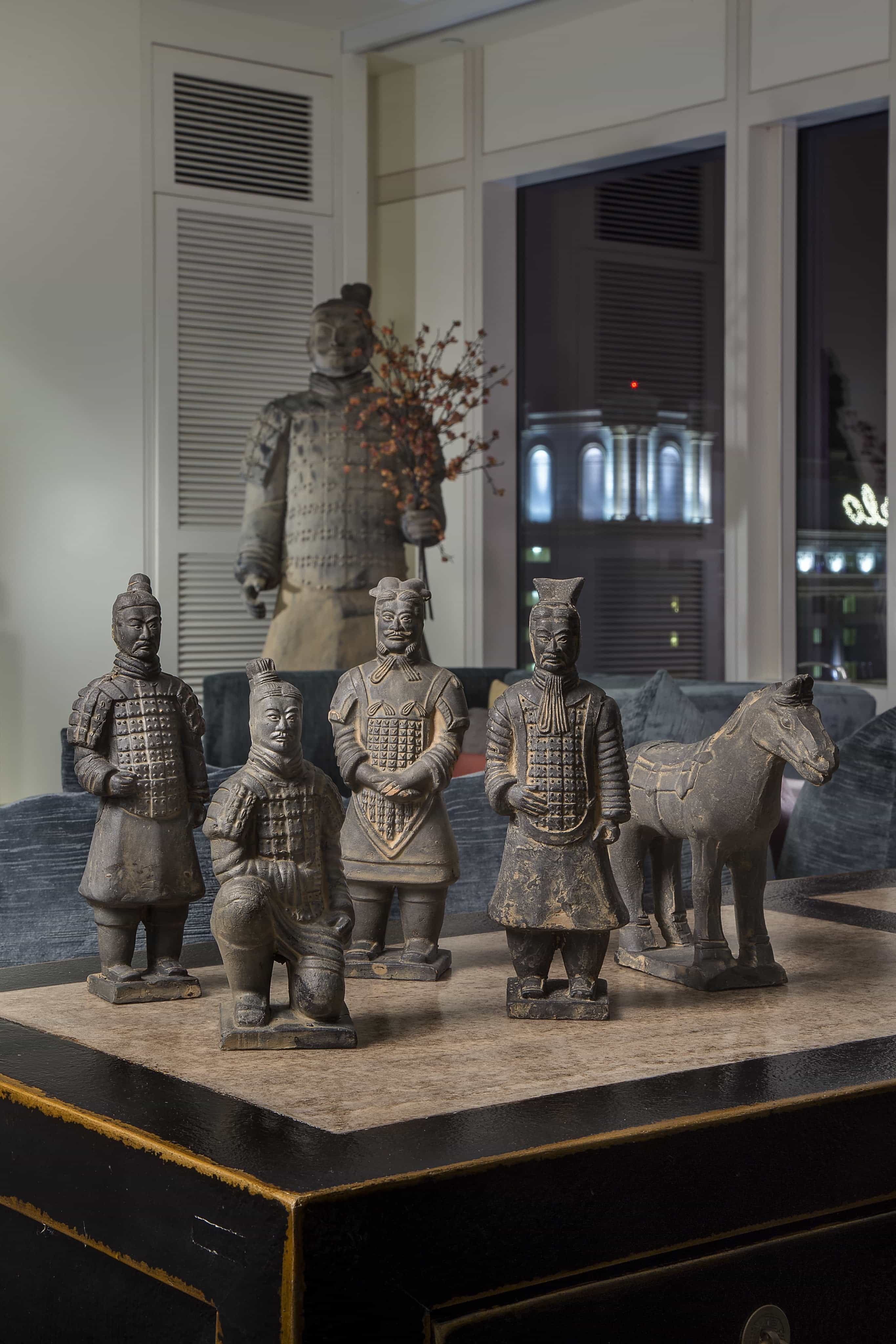 Featured Image of Terra Cotta Hun Statues For Asian Decoration