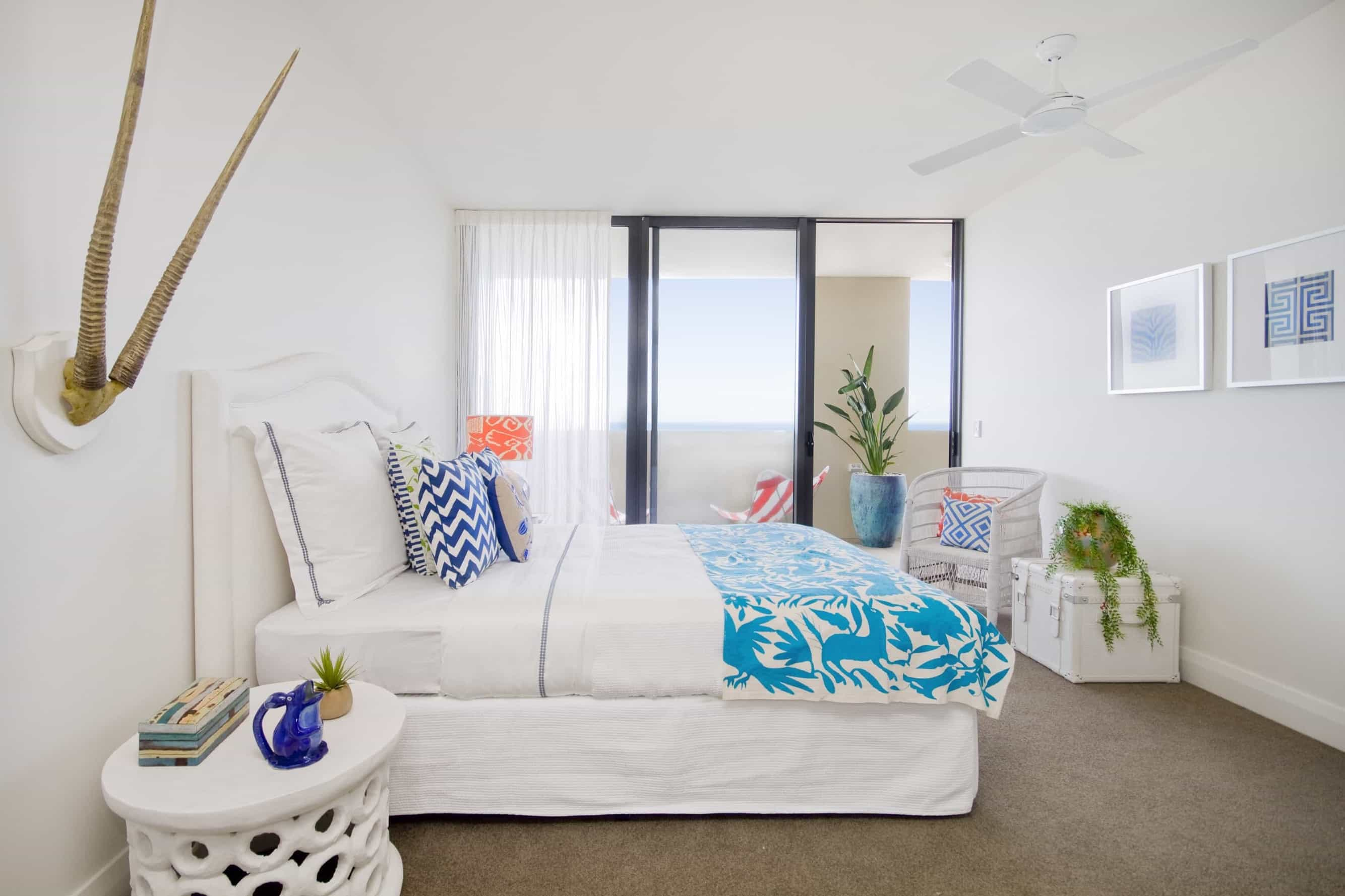 Featured Image of Tranquil Master Bedroom With Balcony Access