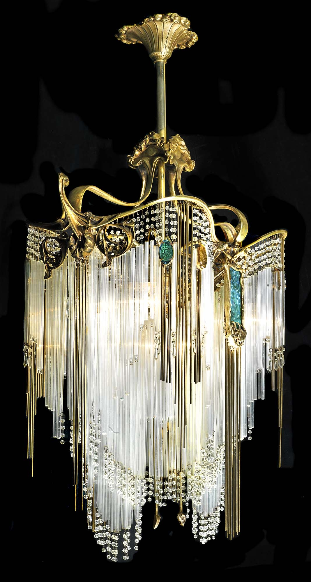 A Collection Of Really Beautiful Chandelier Designs Beautiful Within Art Deco Chandeliers (Image 3 of 15)