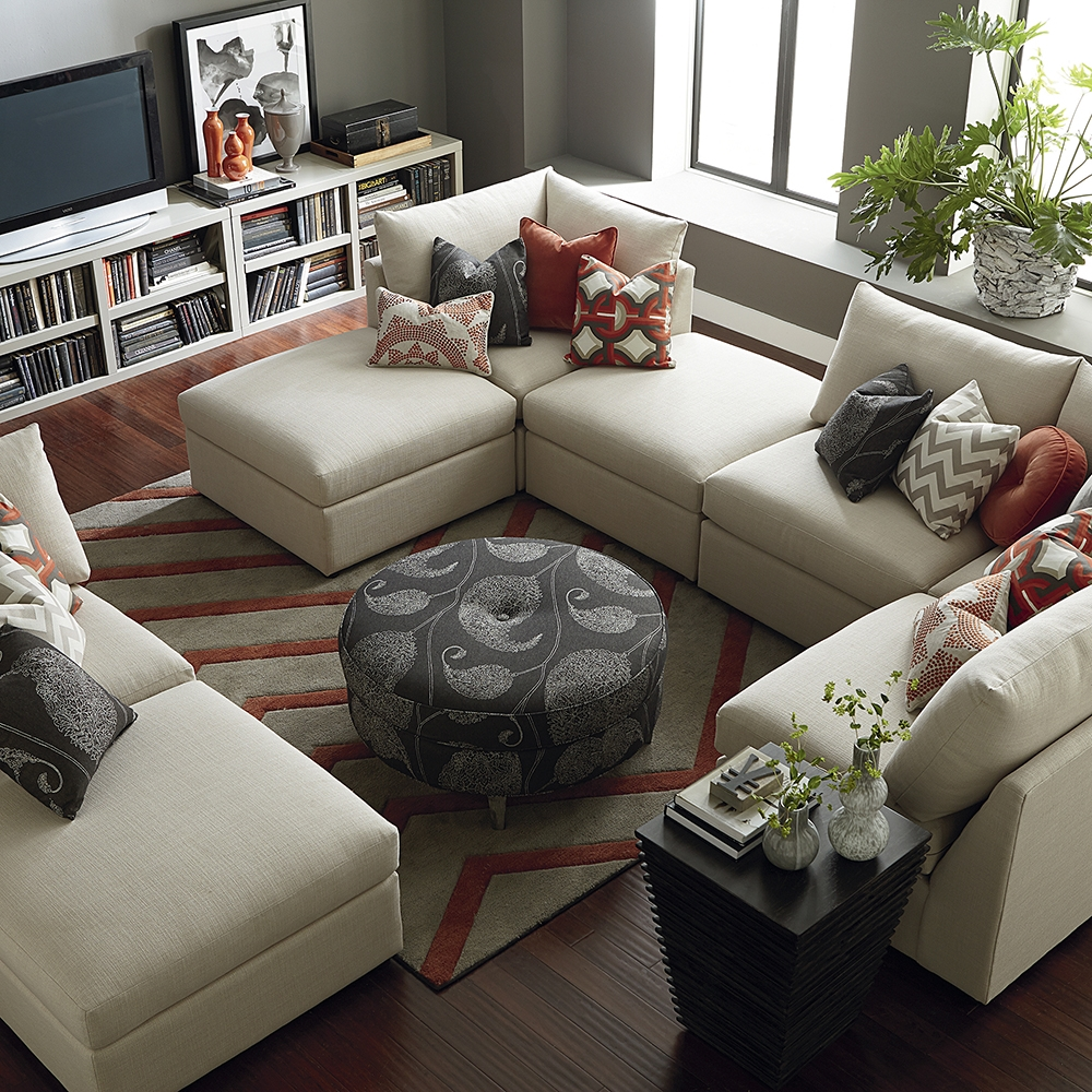 A Sectional Sofa Collection With Something For Everyone Inside Bassett Sectional Sofa (View 2 of 15)