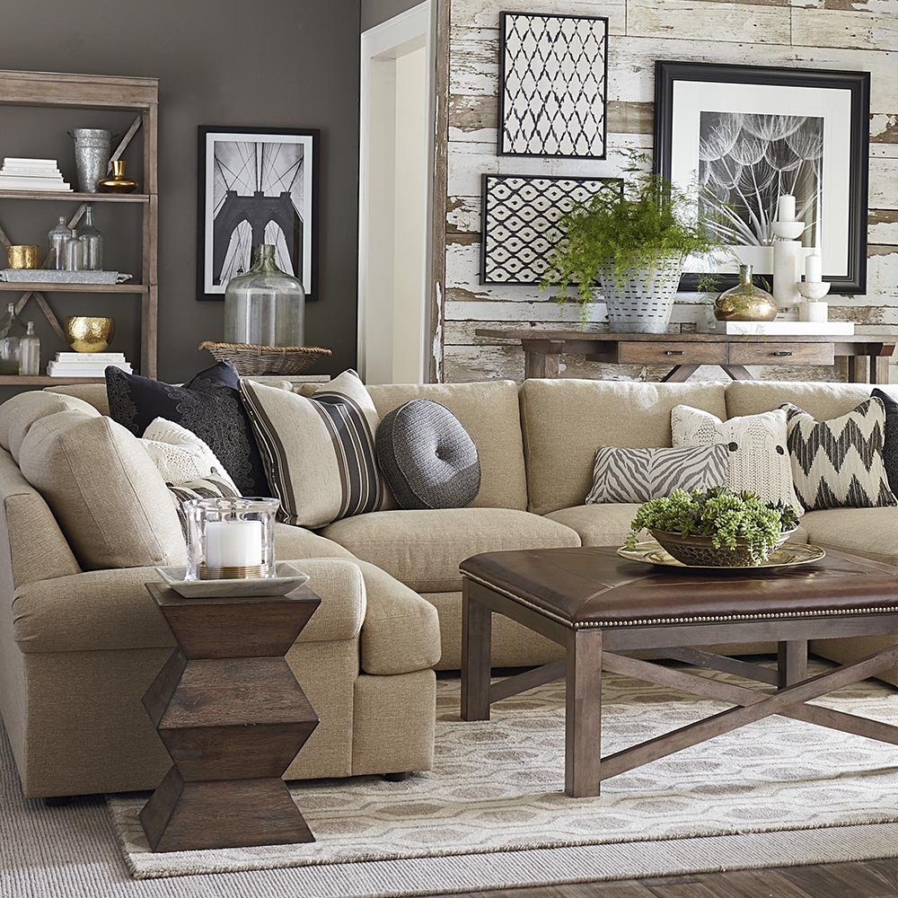 A Sectional Sofa Collection With Something For Everyone Pertaining To Bassett Sectional Sofa (View 3 of 15)