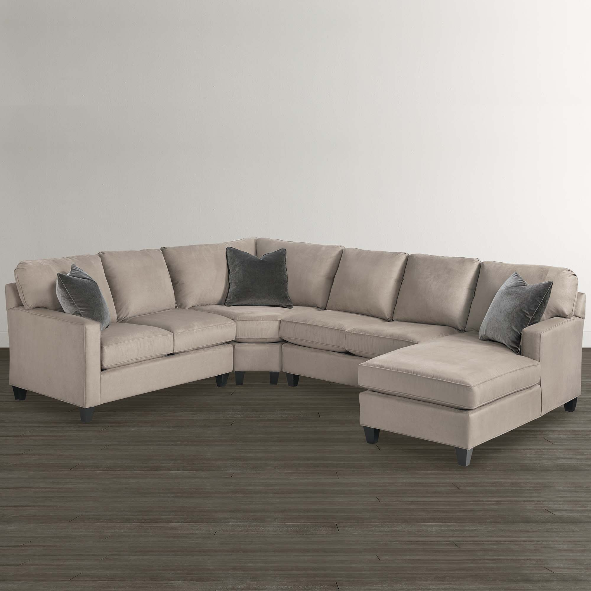 A Sectional Sofa Collection With Something For Everyone Throughout Angled Chaise Sofa (Image 3 of 15)