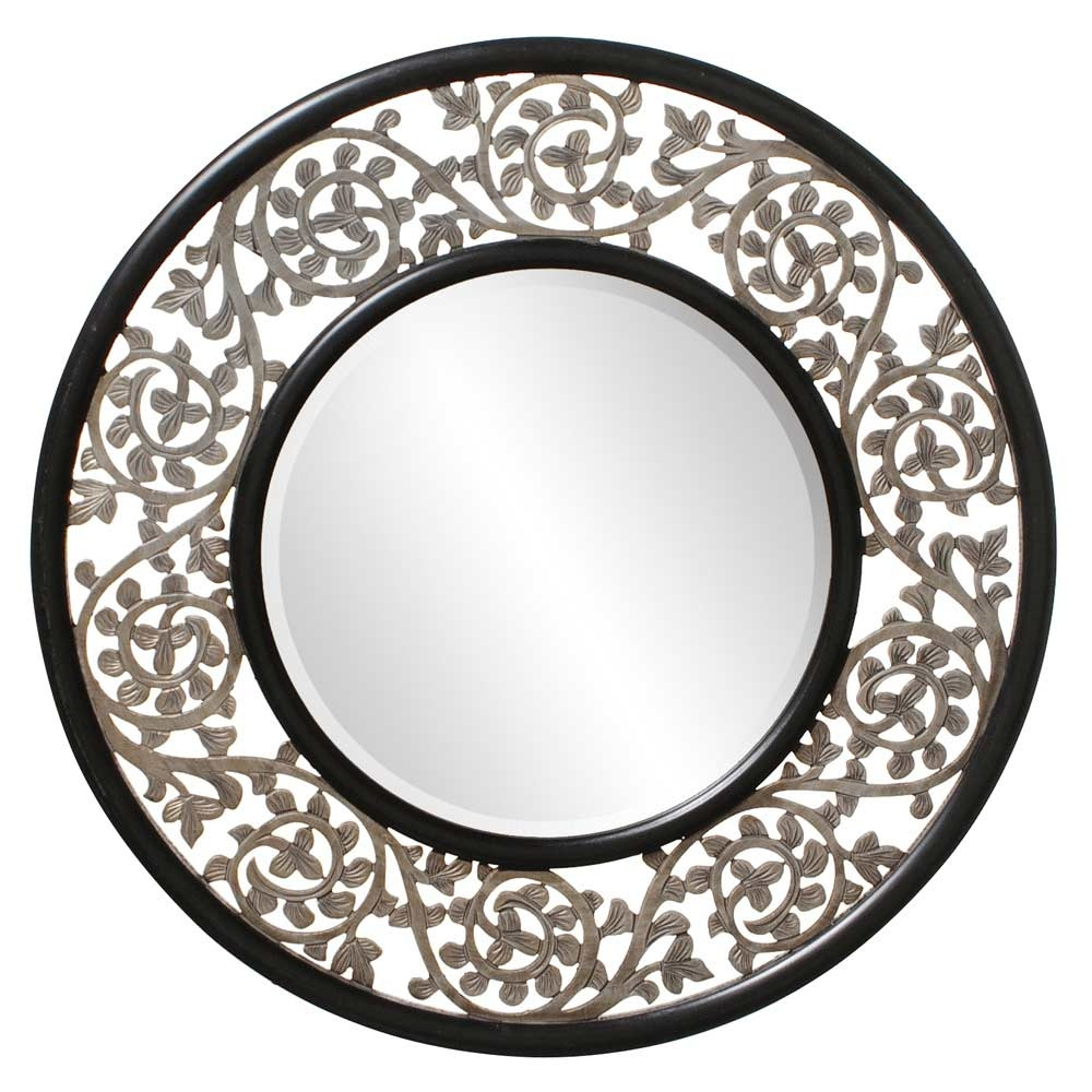 Accent Mirrors Within Unusual Round Mirrors (Image 2 of 15)