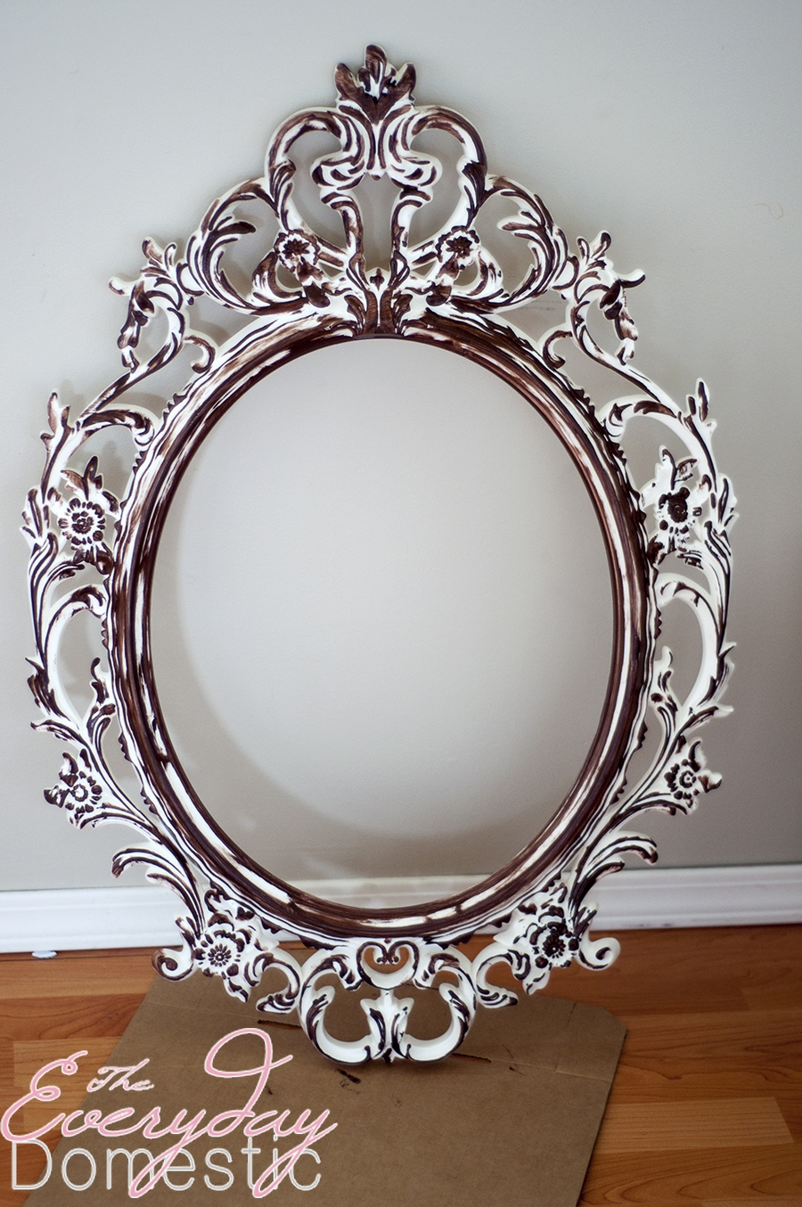 Accessories Foxy Image Of Small Bathroom Decoration Using Hanging Regarding Small Ornate Mirror (Image 3 of 15)