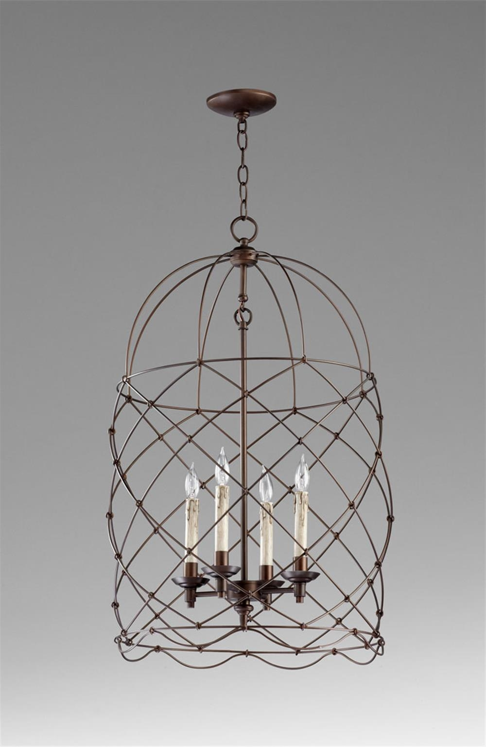 Featured Image of Caged Chandelier