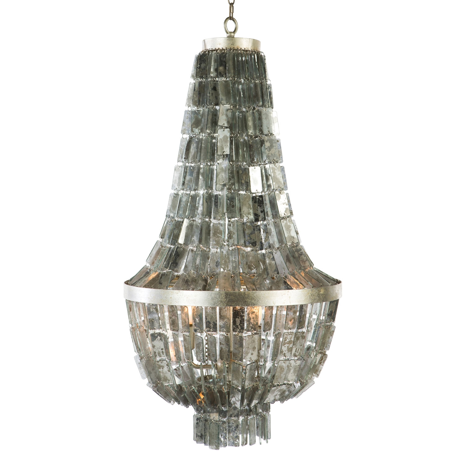 Aidan Gray Lighting Glendive Mirror Small Chandelier Laylagrayce In Antique  Mirror Chandelier (Image 1 of - Antique Mirror Chandelier Chandelier Ideas