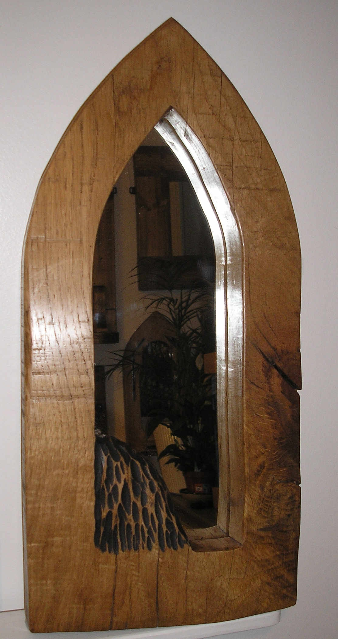 Alan Davidson Interiors Mirrors Throughout Rustic Oak Framed Mirrors (Image 1 of 15)