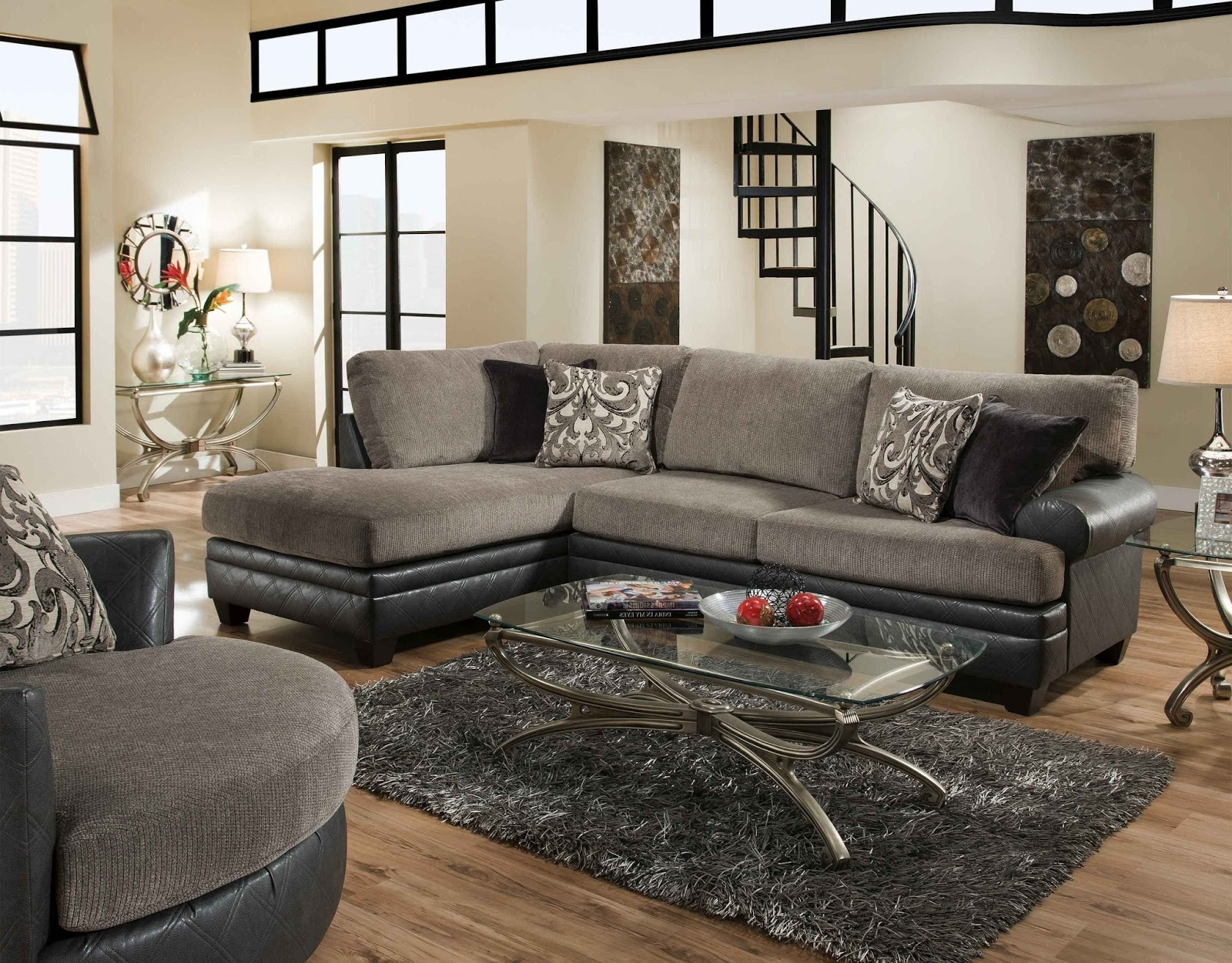 Albany industries sofa albany industries sectional sofa for Allison recliner sectional sofa by albany industries