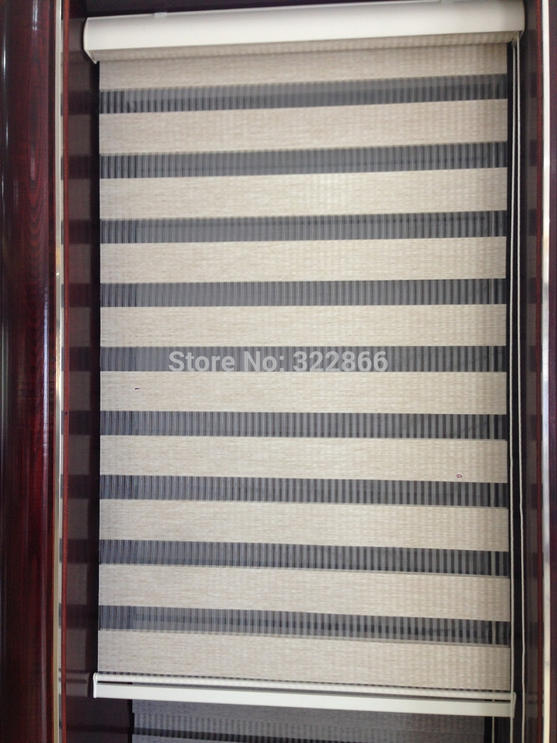 Aliexpress Buy Free Shipping Roller Blinds Rainbow Shades Within Roller Blinds Sheer (View 3 of 15)