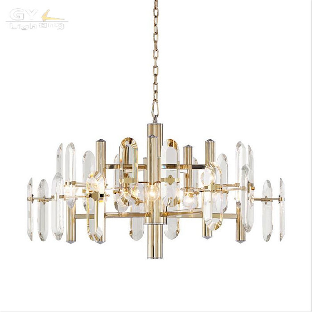 Aliexpress Buy High Quality Modern Living Room Lustre With Regard To Scandinavian Chandeliers (Image 3 of 15)