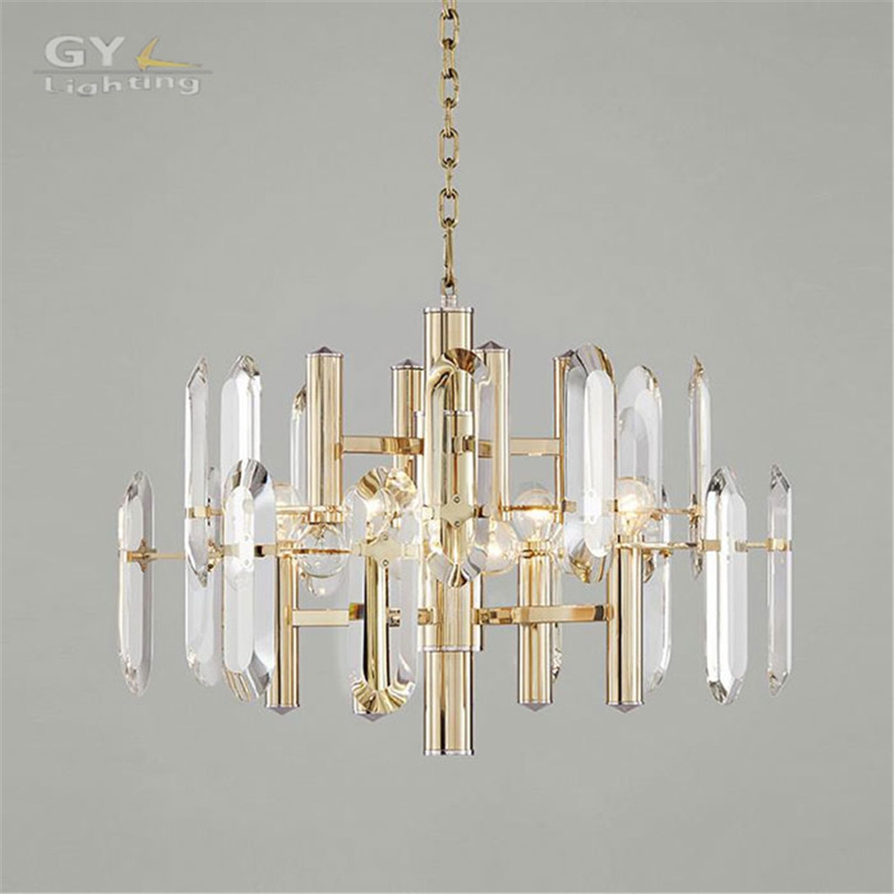 Aliexpress Buy High Quality Modern Living Room Lustre With Regard To Scandinavian Chandeliers (Image 2 of 15)