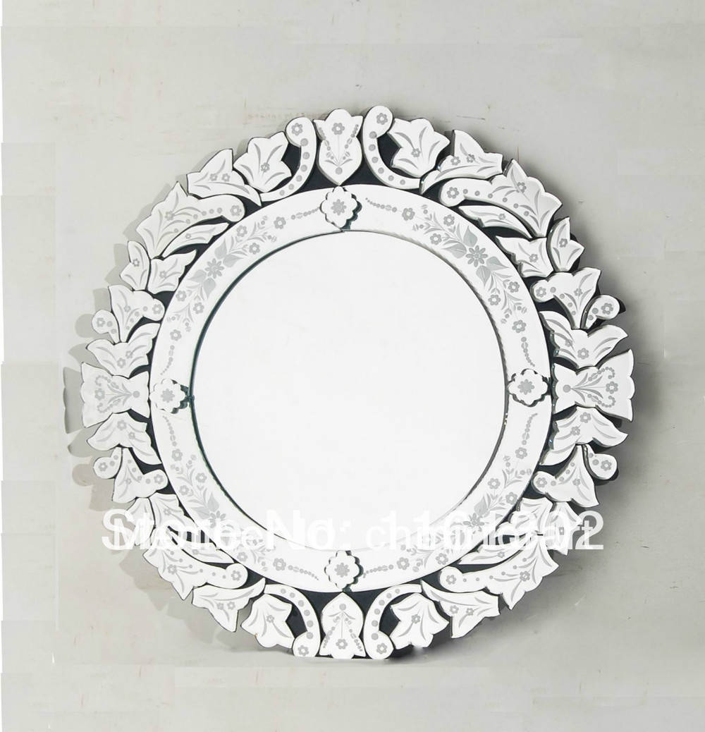 Aliexpress Buy Mr 201153 Round Venetian Light Mirror From Regarding Round Venetian Mirror (View 1 of 15)