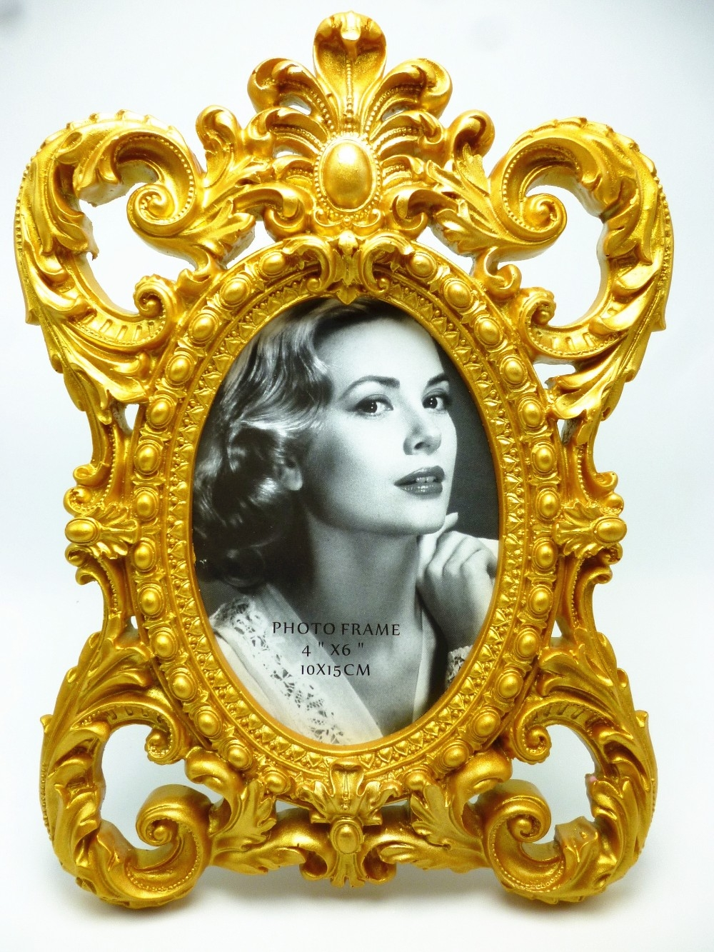 Aliexpress Buy New 3d Classic Baroque Cake Frame Big Retro Pertaining To Baroque Mirror Frame (Image 2 of 15)